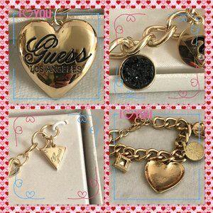 GUESS signature charm bracelet